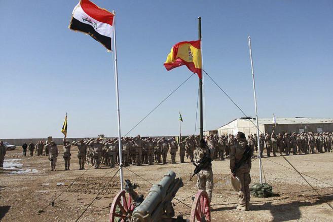 España envía contingente militar al norte de Bagdad