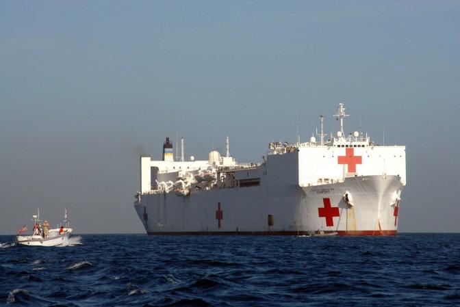 Navío de la Armada Americana brindará asistencia medica a comunidades de Nicaragua