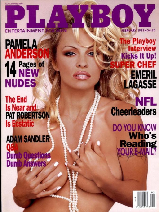 Playboy cierra sus desnudos con Pamela Anderson