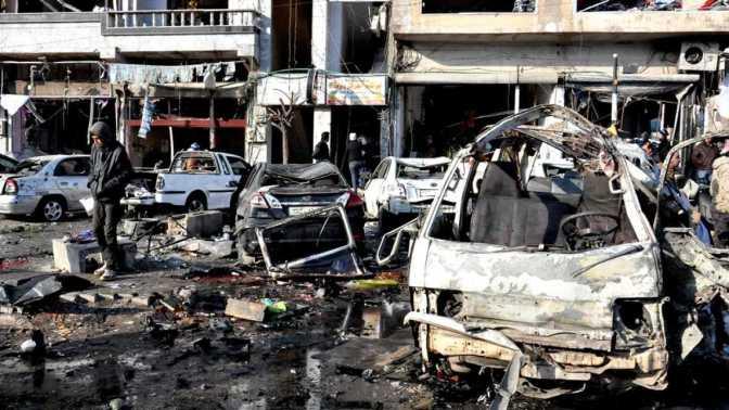 Mueren 46 personas en un doble atentado en la ciudad siria de Homs
