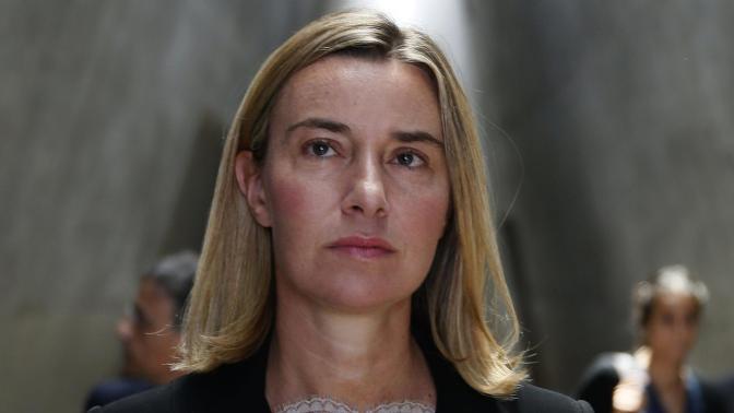 La UE no planea de momento sanciones a Rusia, según Mogherini