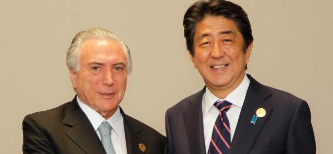 El presidente brasileño se reúne en Tokio con el emperador Akihito de Japón