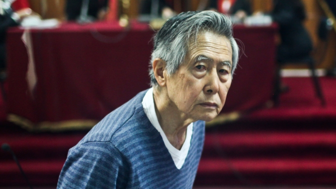 """El Gobierno de Perú declara """"inadmisible"""" un nuevo pedido de indulto a Fujimori"""