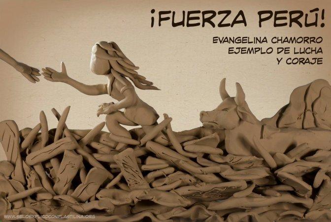 Colombiano crea imagen de plastilina de Evangelina Chamorro