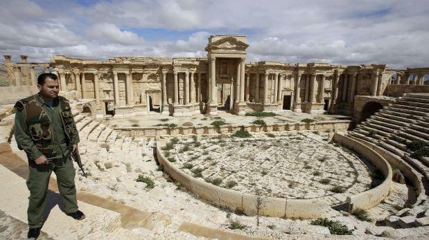 Las fuerzas iraquíes arrebatan al grupo EI el sitio antiguo de Hatra
