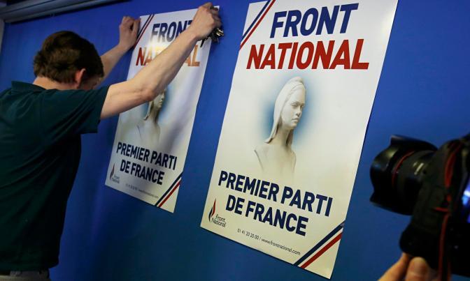 Macron y Le Pen lideran las encuestas en la previa a las elecciones en Francia