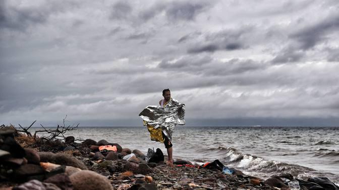 Al menos 15 migrantes muertos en un naufragio frente a las costas griegas