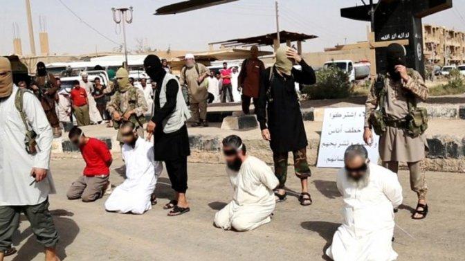 El grupo EI ejecuta a 19 civiles, entre ellos dos niños, en Siria