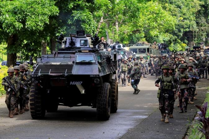 Filipinas afirma que hay combatientes extranjeros entre los islamistas del sur