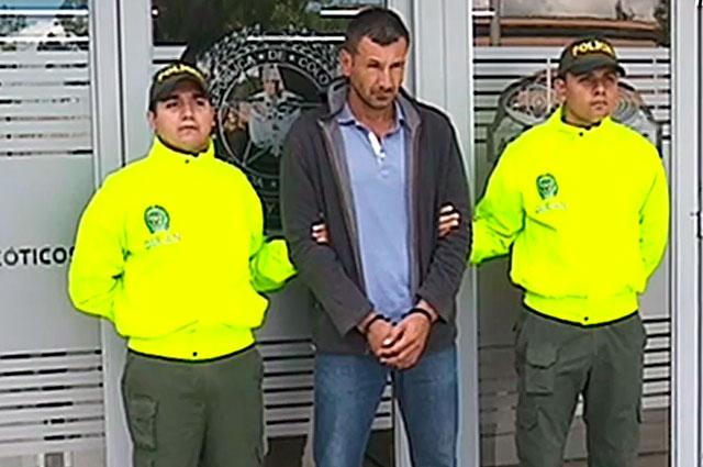 """Capturan en Colombia a """"El emperador"""" del narcotráfico aéreo"""