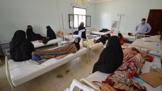 La OMS alerta de que 20 personas han muerto en un solo día por la epidemia de cólera en Yemen