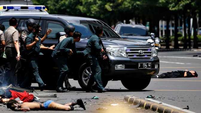 El grupo EI reivindica un atentado en una terminal de autobús de Yakarta