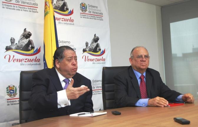 El embajador de Venezuela denuncia lenidad de las autoridades en los incidentes de Madrid
