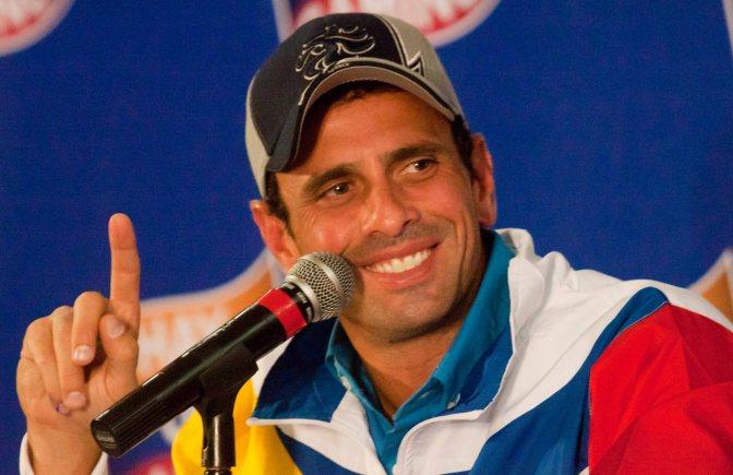 Capriles: La movilización exitosa y que alcanza su objetivo es la pacífica