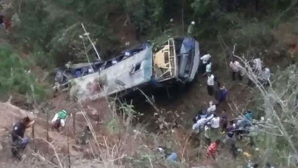 Un accidente de autobús deja 17 muertos y 31 heridos en sur de México