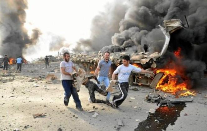 Suben a 14 los combatientes muertos en ataque contra base de rebeldes sirios