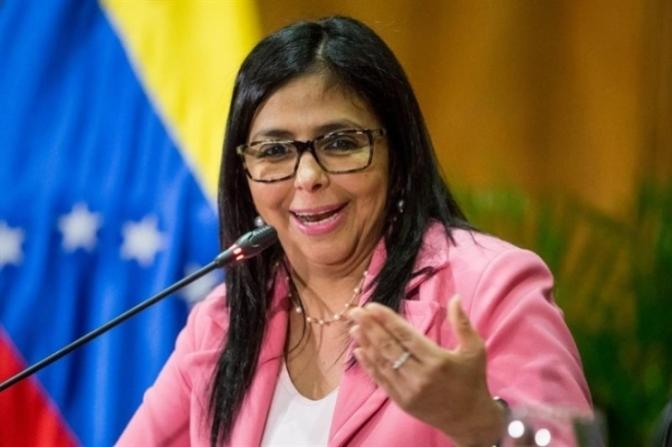 """La canciller venezolana dice que las FFAA enfrentan """"horas oscuras del fascismo"""""""