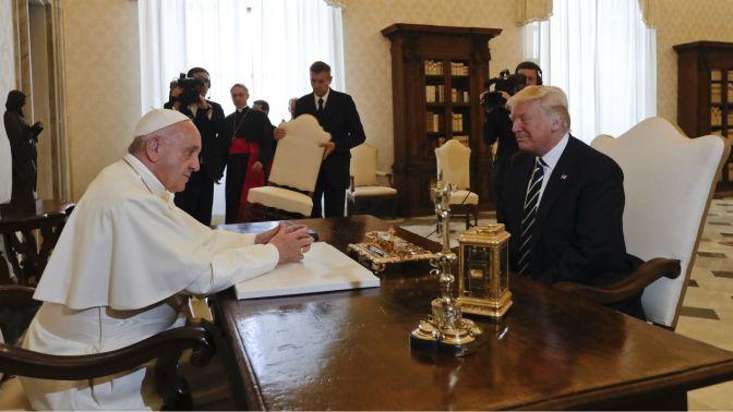 Donald Trump se reunió con el papa Francisco en el Vaticano