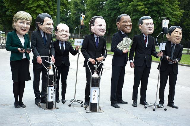 Los líderes del G7 inauguran oficialmente la cumbre en la italiana Taormina