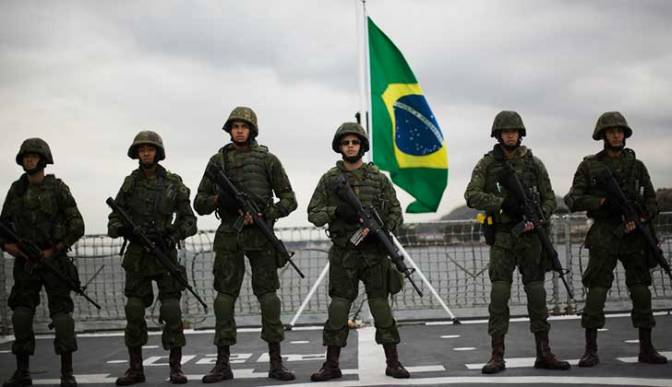 Brasileños protestaron en repudio a condena contra Lula
