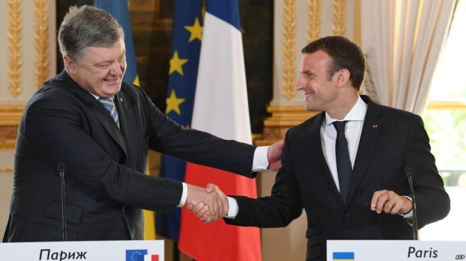 Francia no reconocerá anexión de Crimea por Rusia, anuncia Macron