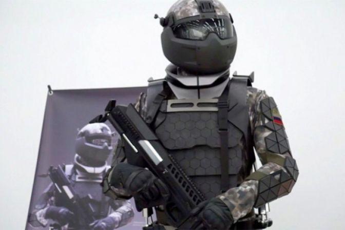 Así sería la armadura de combate del futuro del Ejército de Rusia