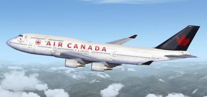 Un avión de Air Canada evita una catástrofe