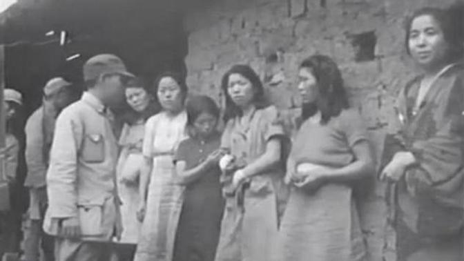 Sale a la luz el primer vídeo que documenta la existencia de las 'mujeres de confort' coreanas