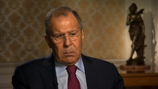 """Lavrov sobre Venezuela: """"Las amenazas de intervención militar son inaceptables"""""""