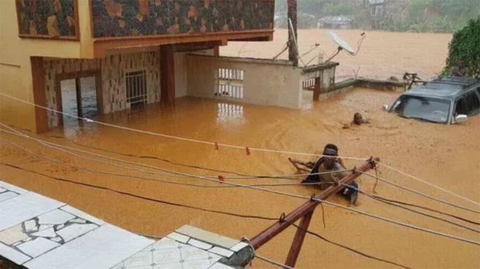 Sierra Leona busca supervivientes bajo el lodo tras las fuertes inundaciones