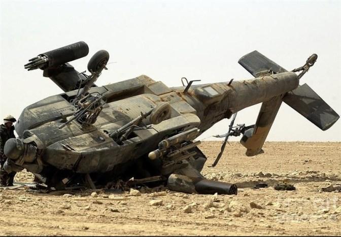 Un helicóptero militar de EE.UU. se estrella en la costa sur de Yemen