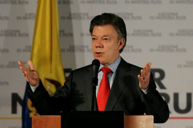 """Santos reconoce un """"mal primer semestre"""" para la economía colombiana"""