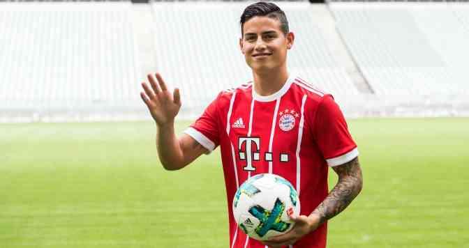 James Rodríguez impedido por Bayern Múnich de jugar con Colombia