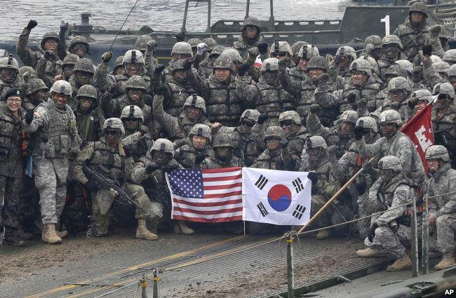 Las maniobras de Seúl y Washington amenazan con elevar de nuevo la tensión