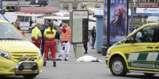 Un joven mata con un cuchillo a dos personas y hiere a seis en Finlandia