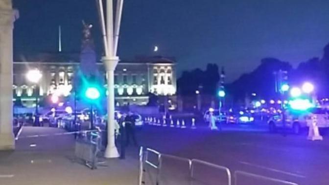 Un detenido por agredir a dos policías ante el palacio de Buckingham