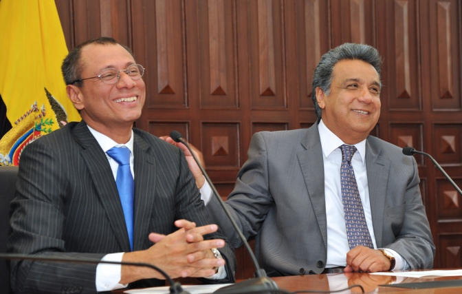 El vicepresidente de Ecuador va a juicio por el caso Odebrecht